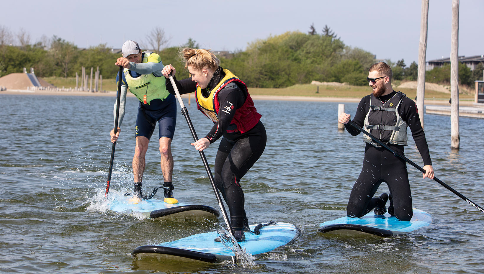 Stand up paddle instruktør