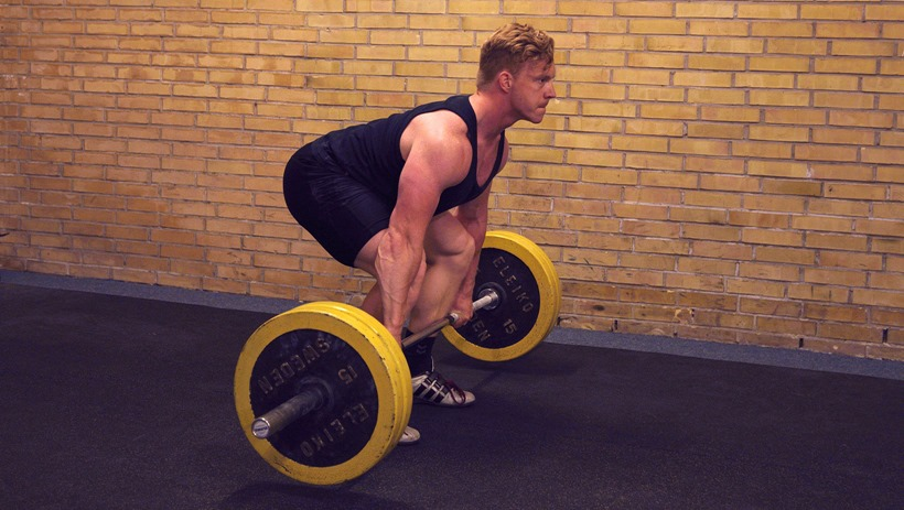 Frivend (power clean)